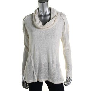 Sanctuary Women's New Pullover Cowl Sweater Top XL